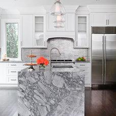Traditional Kitchen by Jodie Rosen Design