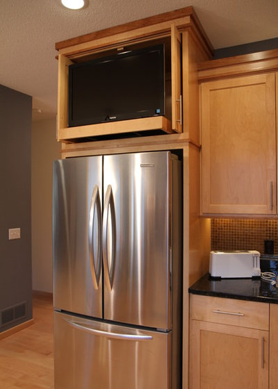 Get The Look Of A Built In Fridge For Less