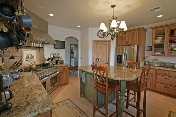 Rustic Kitchen by Kimberly Cole Design
