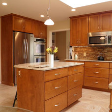 Contemporary Kitchen by Cameo Kitchens, Inc.