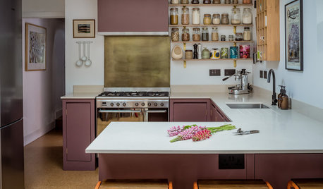 Kitchen Tour: An Inspired Colour Choice for a Cosy, Contemporary Room