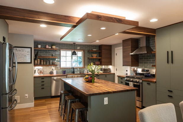 Rustic Kitchen by Defined by Design