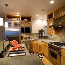 Industrial Kitchen by area design, llc.