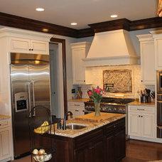 Traditional Kitchen by Rusert Custom Homes