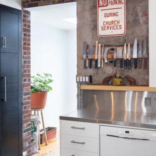 Urban kitchen photo in Toronto