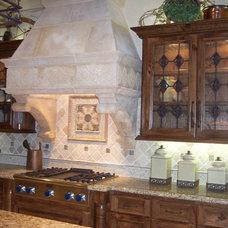 Mediterranean Kitchen by Michelle Williams - Inside Story Interiors