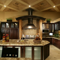 Contemporary Kitchen by Sun West Custom Homes LLC