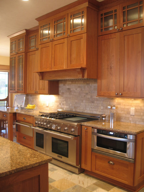 maple cabinet kitchens arts and crafts kitchen design ideas renovations amp photos 3995