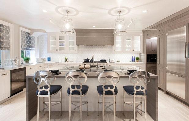 Transitional Kitchen by Rikki Snyder