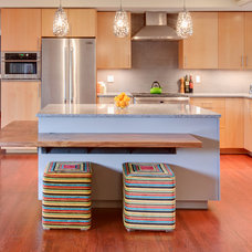 Modern Kitchen by Claddagh Construction Inc