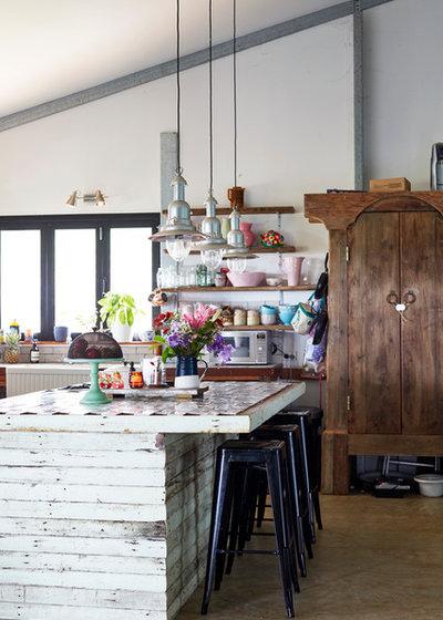 Eclectic Kitchen by Jessie & Jones