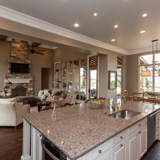 Traditional Kitchen by David Mills Custom Homes