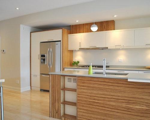 Best Cabinets Around Refrigerator Design Ideas & Remodel Pictures | Houzz