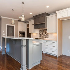 Transitional Kitchen by Jarman Homes