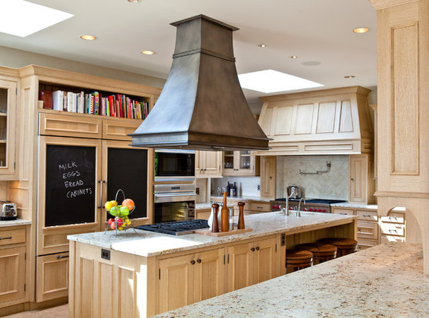 Transitional Kitchen by Seattle Custom Cabinets