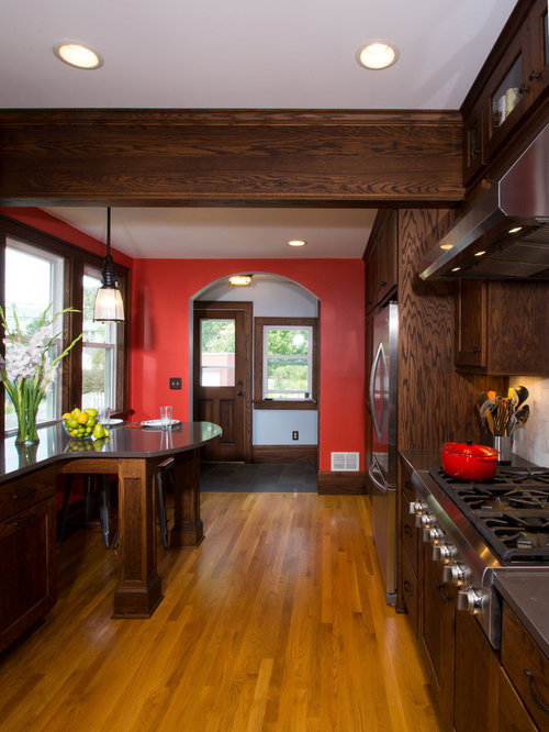 Dark Oak Wood Floor Home Design Ideas Pictures Remodel And Decor