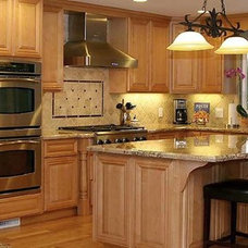Traditional Kitchen by Charles & Edward Inc.