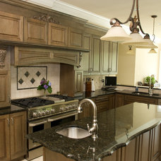 Traditional Kitchen by Titan Construction LLC