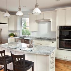 Traditional Kitchen by Dominion Granite & Marble