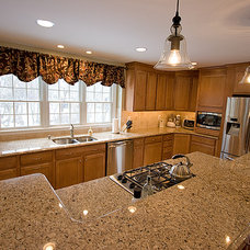 Traditional Kitchen by Faith Home Remodeling Services