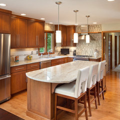 contemporary kitchen by Nicholson Builders