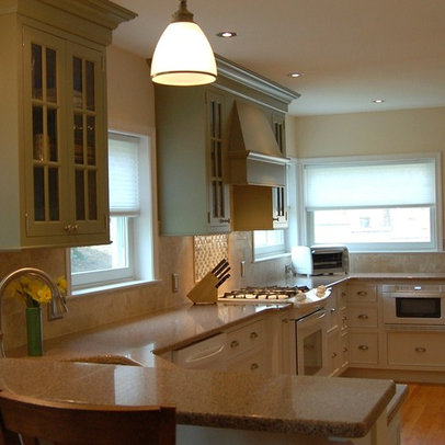Traditional Home New Kitchen Layout Design Ideas, Pictures ...