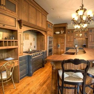 Kitchen: Adding Timeless Grandeur