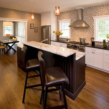 Kitchen Addition and Renovation to a Vintage Home in Maplewood, NJ