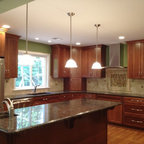 Dc Row Home Kitchen Range Traditional Kitchen Dc