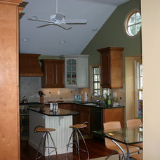 Traditional Kitchen by Joseph M Marchese, Architect