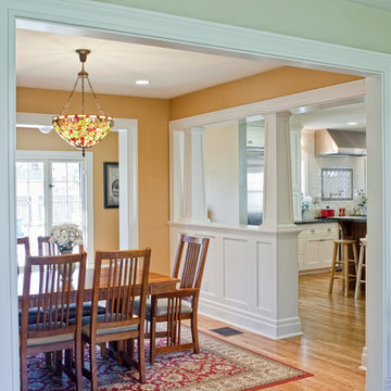 Kitchen Addition to Colonial Revival Home