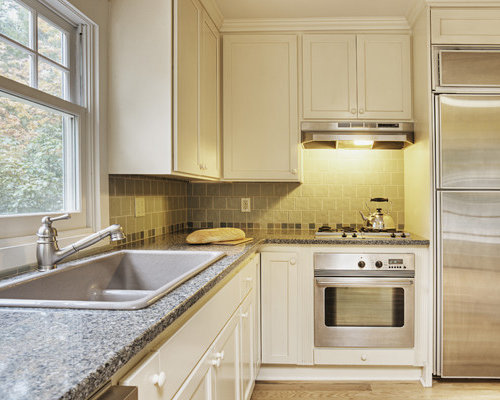 Simple kitchen designs houzz for Simple kitchen design images