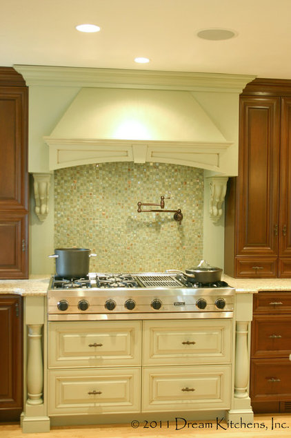 traditional kitchen by Dream Kitchens, Nashua NH