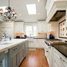 Traditional Kitchen by Sharon Goldberg Interior Designs