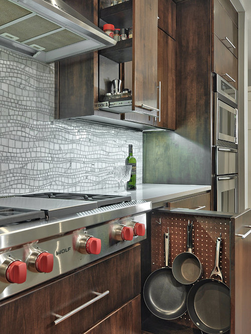Fry Pan Storage Home Design Ideas, Pictures, Remodel and Decor