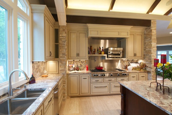 Traditional Kitchen by Realty Restoration, LLC