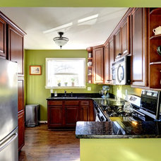 Traditional Kitchen by Round Here Renovations, LLC