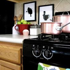 Eclectic Kitchen by Agnes Blum