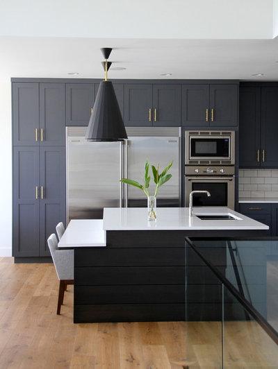 Transitional Kitchen by Hallmark Floors