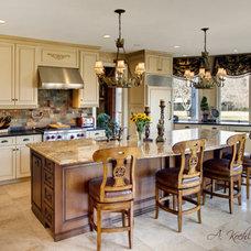 Traditional Kitchen by Amanda Koehler / Charm City Virtual Tours