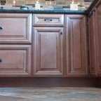 Red Hot Traditional Kitchen Charlotte By Walker