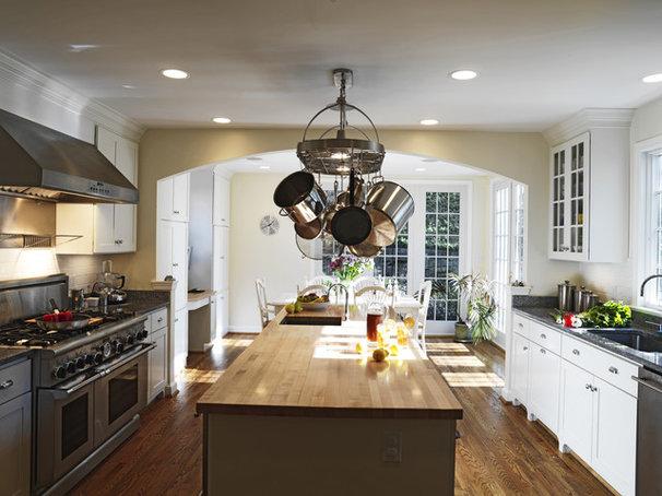 Traditional Kitchen by David Vogt - Case Design/Remodeling Inc.