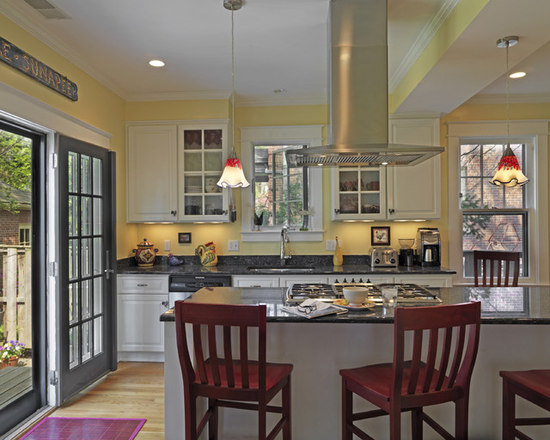 Kitchen Island Hoods hood over island | houzz