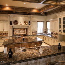 Traditional Kitchen by Allied Stone