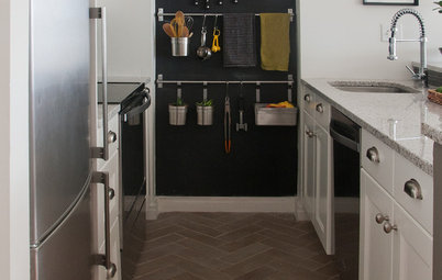 10 Big Space-Saving Ideas for Tiny Kitchens
