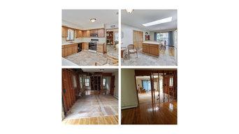Kitchen & bath demolition for new homeowner