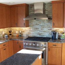 Contemporary Kitchen by Mari Woods Kitchen Bath Home, LLC