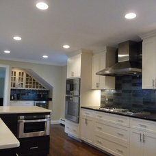 Traditional Kitchen by M. Glorioso Construction Co.