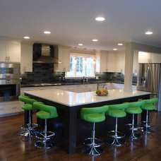 Contemporary Kitchen by M. Glorioso Construction Co.