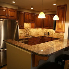 Traditional Kitchen by DiMarco and Associates, LLC